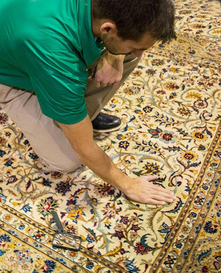 Professional Area and Oriental Rug Cleaning on the Treasure Coast by Tropical Chem-Dry